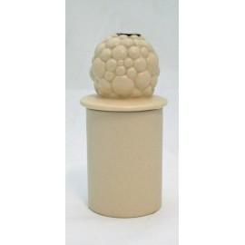 Perfumer incense holder with. Cream