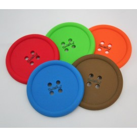 Coaster colorful silicone