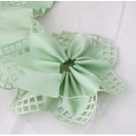 Tape door confetti geometric col. sage green