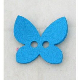 Cabochon butterfly with. Turquoise