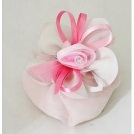 Tape door confettI handbag with. pink