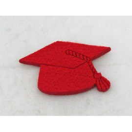 Cabochons touch graduated with. Red