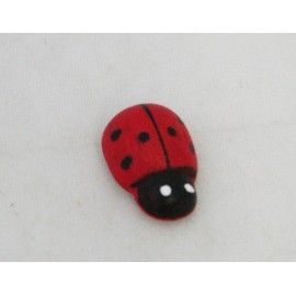 Cabochons Ladybug (small) col. Red, black
