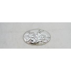 Cabochon angels silver 925 with. Silver