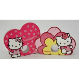 Box Hello Kitty with. Pink and Fuchsia - 12x9x1,5cm