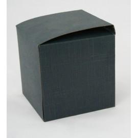 Box-Blue silk - 10x10x10cm