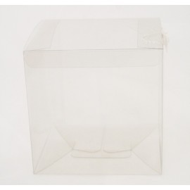 """Box """"Click"""" clear pvc - 12x12x12cm"""