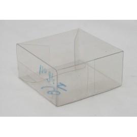 "Box ""Box"" clear pvc - 6x3x6cm"
