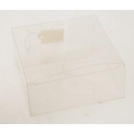 "Box ""Box"" clear pvc - 8x3,5x8cm"