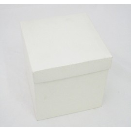 Small square Slate Ivory - 17x17x17 cm