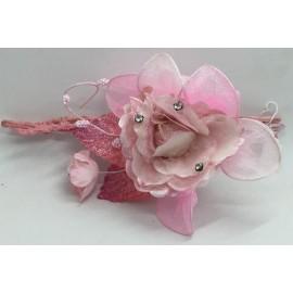 Fiore Diamantato portaconfetti rosa