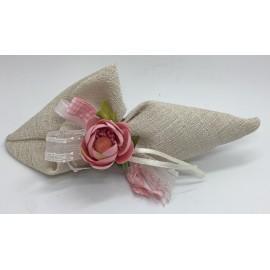 Sacchetto Lady a forma di cono color sabbia
