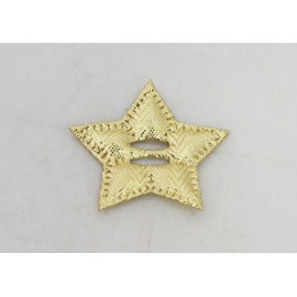 Cabochon Star with the. Gold