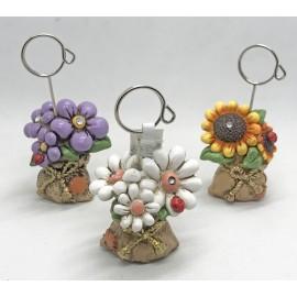 Portafoto fiori, 3 pose