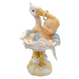 Baby cicogna azzurra 2 pose